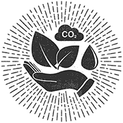 A hand protecting the environment icon